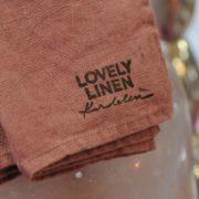 Tischwäsche, Dekoration und Textilien aus Leinen