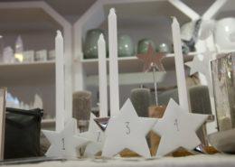 Adventskranz aus Kerzen